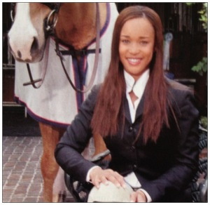 paige johnson equestrian black female equestrians