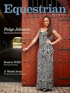 paige johnson equestrian magazine